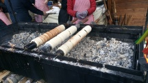 Trdelník - popular pastry in Czech Republic
