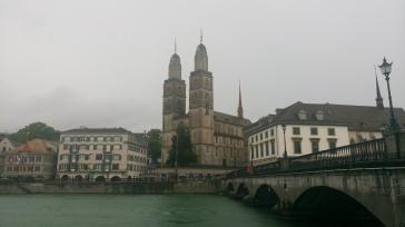Zurich - Gross Munster in the background