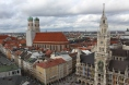 Munich city view