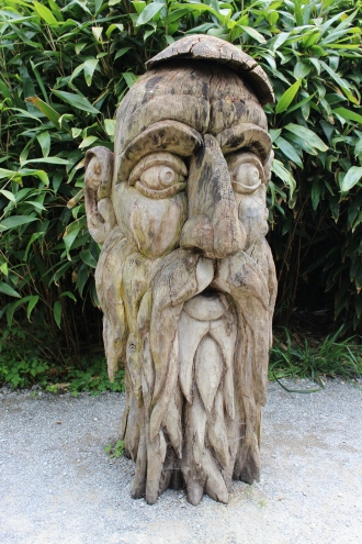 Interesting art at Insel Mainau