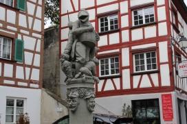 Cool fountain at Meersburg