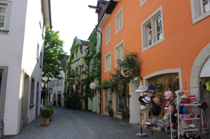 Cosy little streets of Meersburg