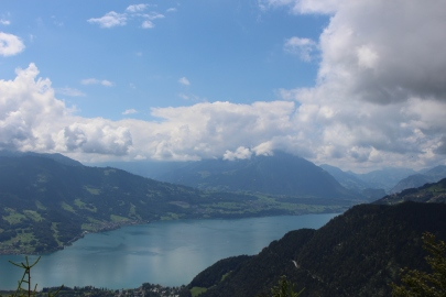 Interlaken - View of Lake Thun