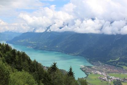 Interlaken - View of Lake Brienz