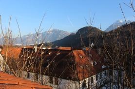 Alpine view enroute to the High Castle, Füssen